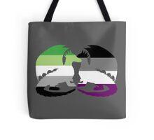 Aro Ace Pride Dragons Tote Bag