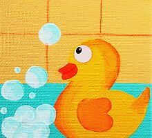 Cheeky Little Duck 2 by Kelly Mark