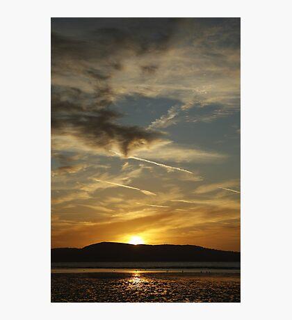 Dublin bay sunrise Photographic Print
