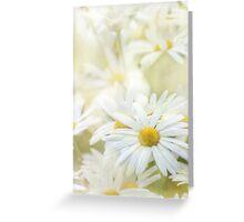 dancing daisies Greeting Card