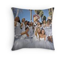 Girls Just Want To Have Fun Throw Pillow