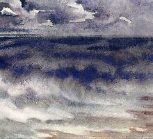 Stormy sea by serikpai
