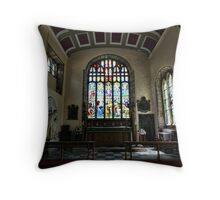 St Mary & St Nicholas Throw Pillow