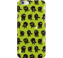 Black cute octopuses. iPhone Case/Skin