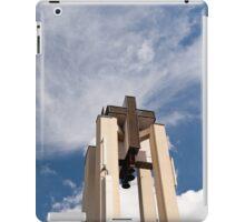 High church turret cross iPad Case/Skin