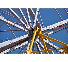 Big Wheel, Luna Park Photographic Print