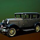 1930 Model A Ford Sedan by TeeMack