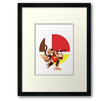 I Main Diddy Kong Framed Print