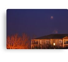 The 5 minute eclipse Canvas Print