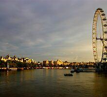 The London Eye Half Open by DExPIX