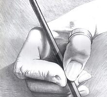 Hands On - Self-portrait by Karen Bittkau
