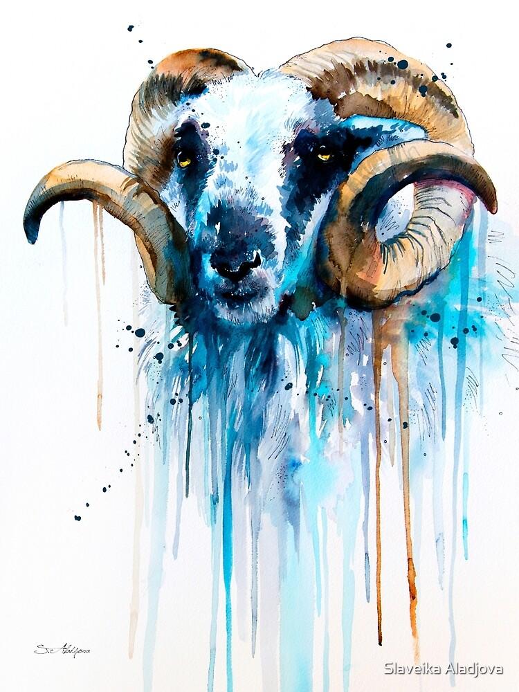 Sheep by Slaveika Aladjova