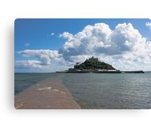 St Michael's Mount From The Causeway Canvas Print