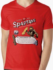 Spartan Vitamins Mens V-Neck T-Shirt
