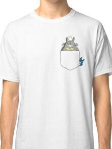 Totoro Pocket, With Little Totoro's Studio Ghibli Classic T-Shirt