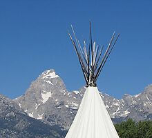 Teton Tipi by Loree McComb