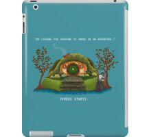 Share In An Adventure, Ode to The Hobbit Pixel Art iPad Case/Skin