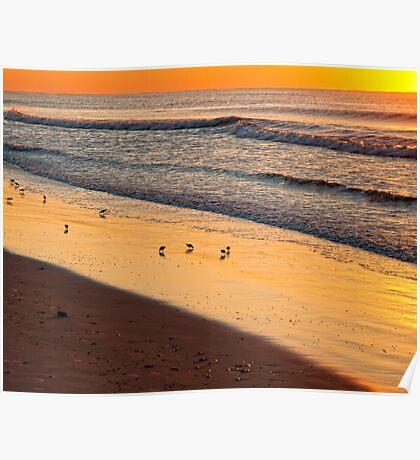 SUNRISE - OCEAN CITY, NEW JERSEY Poster