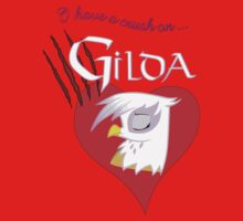I have a crush on... Gilda - with text One Piece - Long Sleeve