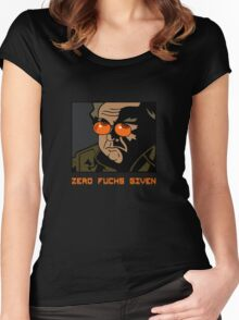 """THING - """"Zero Fuchs Given"""" -- Blair Women's Fitted Scoop T-Shirt"""