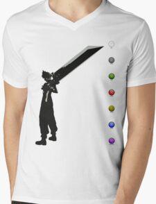 Cloud & Materia Mens V-Neck T-Shirt