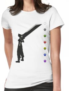 Cloud & Materia Womens Fitted T-Shirt