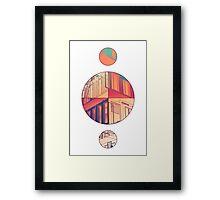 Orbital Framed Print