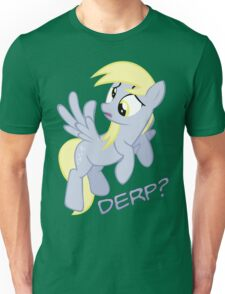 Derp? with text Unisex T-Shirt