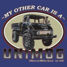 My other car is a UNIMOG by Groenendijk