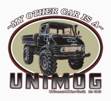 My other car is a UNIMOG Baby Tee