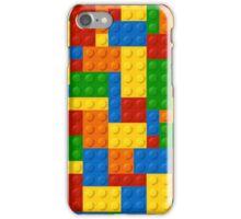 Plastic Blocks iPhone Case/Skin