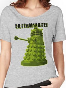 EXTERMINATE ARMY Women's Relaxed Fit T-Shirt