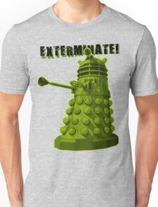 EXTERMINATE ARMY Unisex T-Shirt