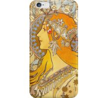 Alphonse Mucha - Zodiac iPhone Case/Skin