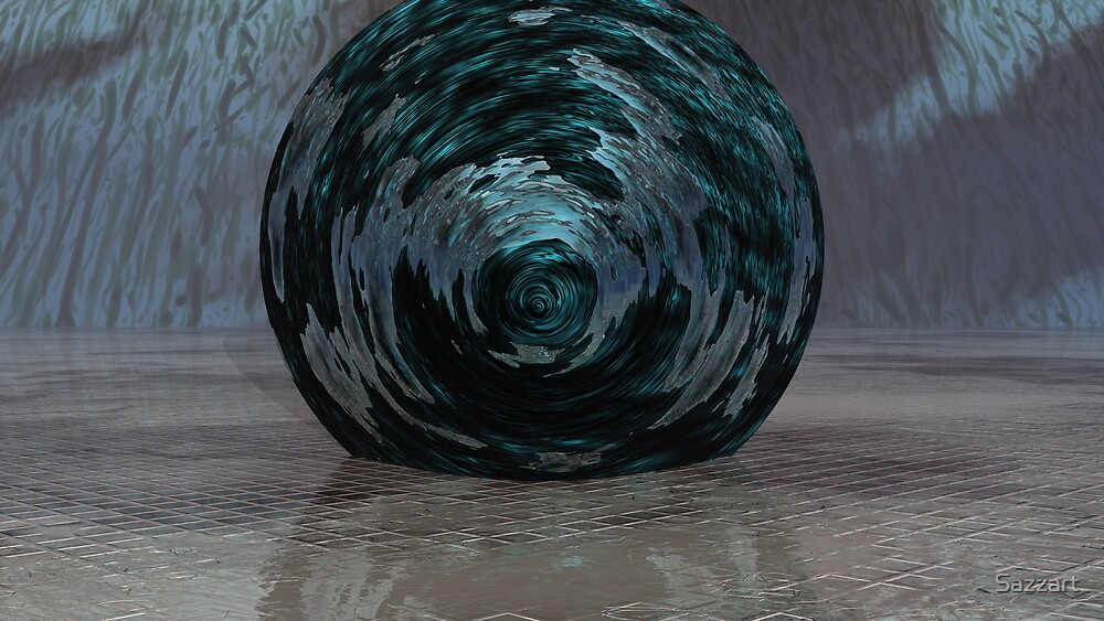Atmos, Earth & Water Swirl by Sazzart