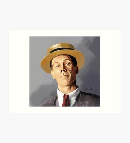 Hugh Laurie as Bertie Wooster Art Print