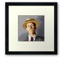 Hugh Laurie as Bertie Wooster Framed Print