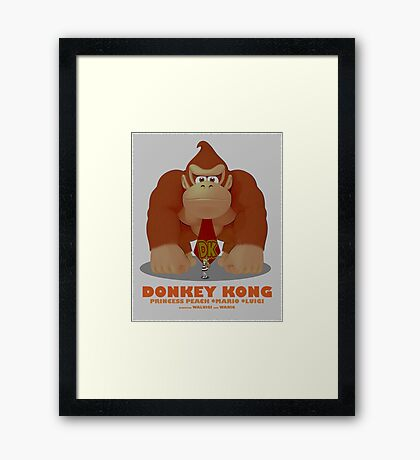 DK Movie Poster Framed Print