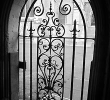 Chichester Cathedral Gate by Victoria Ellis