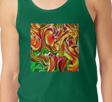 Twisted Tulips Tank Top