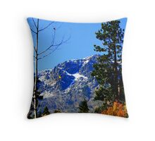 """Early Snow"" Throw Pillow"