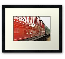 Red to green Framed Print