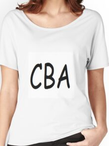 CBA Women's Relaxed Fit T-Shirt