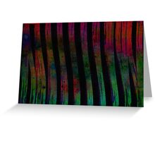 abstract lines, colours, & fun……… Greeting Card