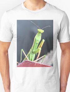 Praying Mantis Macro Photo Unisex T-Shirt