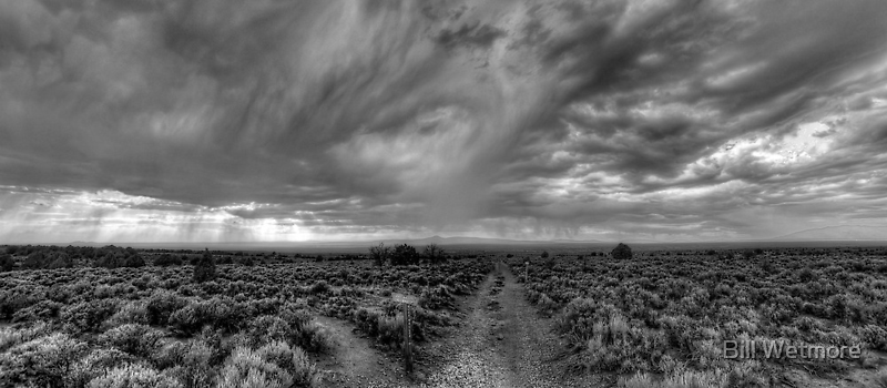Rift Valley Trail -- B&W by njordphoto