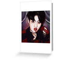 BTS Jungkook 04 Greeting Card