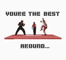 Karate Kid - Youre The Best... Around... by Cat Games Inc