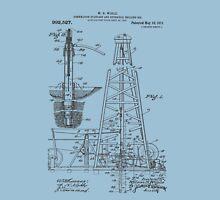 1911 Oil Rig Patent Unisex T-Shirt