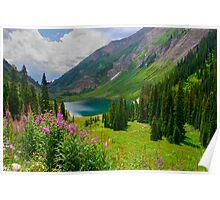 Emerald Lake Poster
